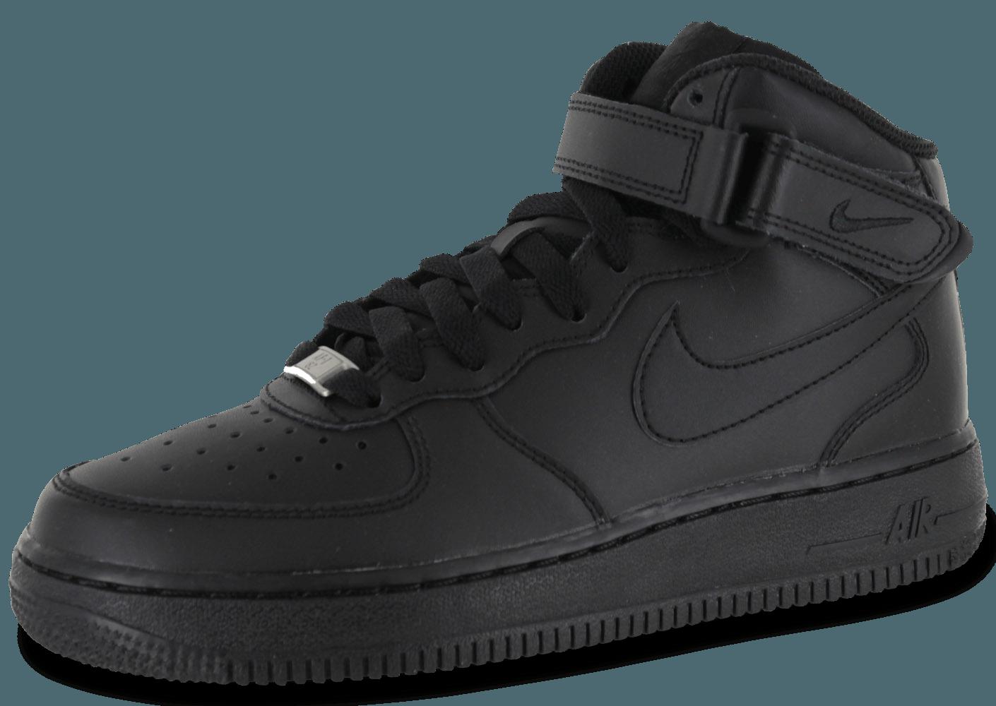 basket nike air force 1 mid noir