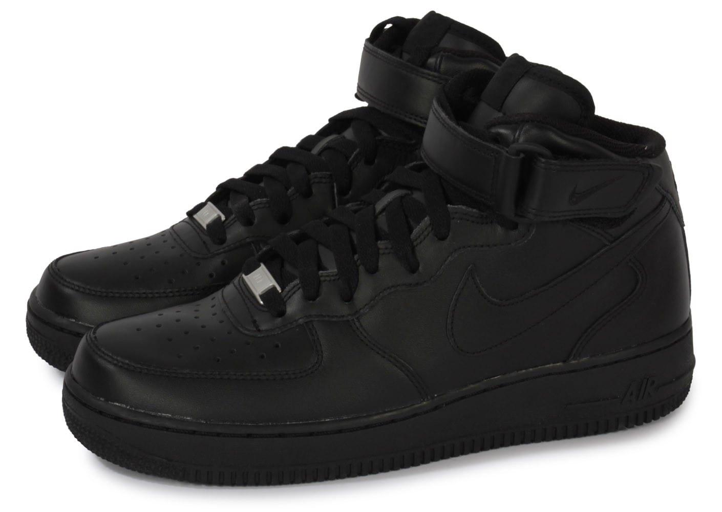 air force 1 montant noir