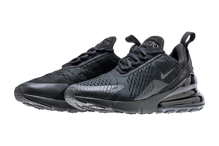 best service 04396 415c7 ... new arrivals chaussures homme nike air max 270 flyknit casual prix pas  cher noir gris ao1023001