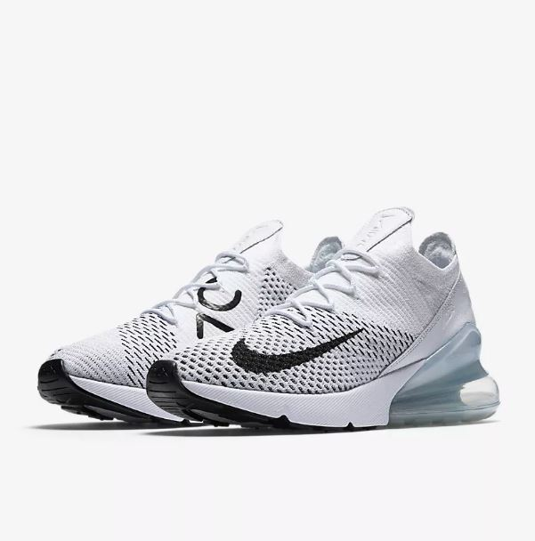 nike air max 270 flyknit femme blanche