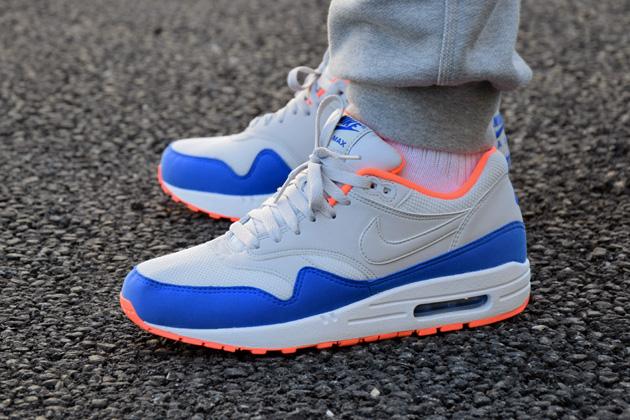 air max bleu orange