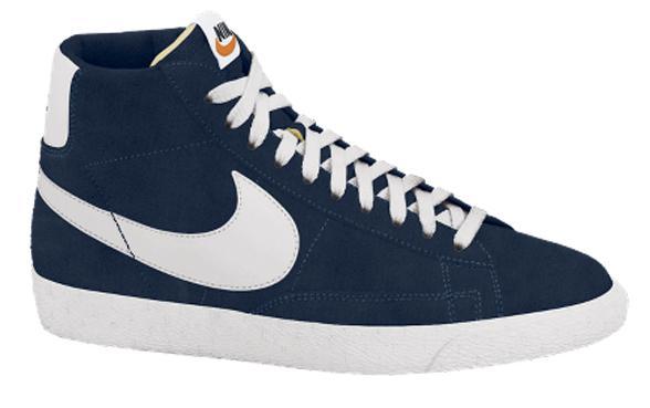 chaussure nike blazer bleu marine
