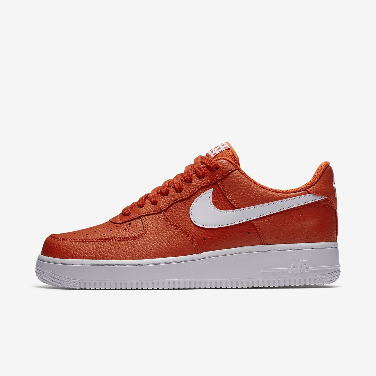 chaussure nike orange homme
